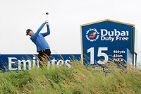 Niklas Lemke (SWE) on the 15th teeduring the 3rd round of the Dubai Duty Free Irish Open, Lahinch Golf Club, Lahinch, Co. Clare, Ireland. 06/07/2019<br /> Picture: Golffile | Thos Caffrey<br /> <br /> <br /> All photo usage must carry mandatory copyright credit (© Golffile | Thos Caffrey)