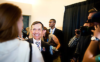 Dennis Kucinich at the Democratic National Convention in Denver, Colorado, Tuesday, August 26, 2008...PHOTOS/  MATT NAGER