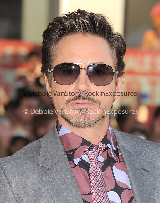 "Robert Downey Jr. at The Marvel Studios Premiere of "" Captain America : The First Avenger ""  held at The El Capitan Theatre in Hollywood, California on July 19,2011                                                                               © 2011 DVS/Hollywood Press Agency"