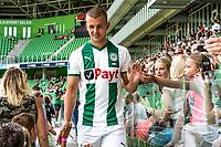 GRONINGEN - Voetbal, Opendag FC Groningen, seizoen 2018-2019, 05-08-2018, FC Groningen speler Jesper Drost