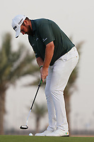 Shane Lowry (IRL) on the 11th during Round 2 of the Saudi International at the Royal Greens Golf and Country Club, King Abdullah Economic City, Saudi Arabia. 31/01/2020<br /> Picture: Golffile | Thos Caffrey<br /> <br /> <br /> All photo usage must carry mandatory copyright credit (© Golffile | Thos Caffrey)