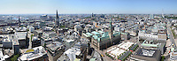 Hamburg Innenstadt  : EUROPA, DEUTSCHLAND, HAMBURG, (EUROPE, GERMANY), 04.07.2015: Hamburg Panorama