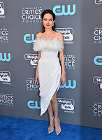 Angelina Jolie at the 23rd Annual Critics' Choice Awards at Barker Hangar, Santa Monica, USA 11 Jan. 2018<br /> Picture: Paul Smith/Featureflash/SilverHub 0208 004 5359 sales@silverhubmedia.com