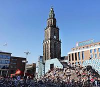 Nederland  Groningen - 2019 .  De Martinitoren.   Foto Berlinda van Dam / Hollandse Hoogte