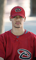 Francisco Guzman - Arizona Diamondbacks - 2010 Instructional League.Photo by:  Bill Mitchell/Four Seam Images..