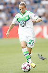 VfL Wolfsburg's Isabel Kerschowski during UEFA Women's Champions League 2015/2016 Final match.May 26,2016. (ALTERPHOTOS/Acero)