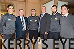 Wayne Guthrie, JP Brick, William Kirby, John Tobin, Daniel Gohane, John O' Magner at the  Austin Stacks Fundraiser lunch in aid club development programme in Ballygarry Hotel on friday