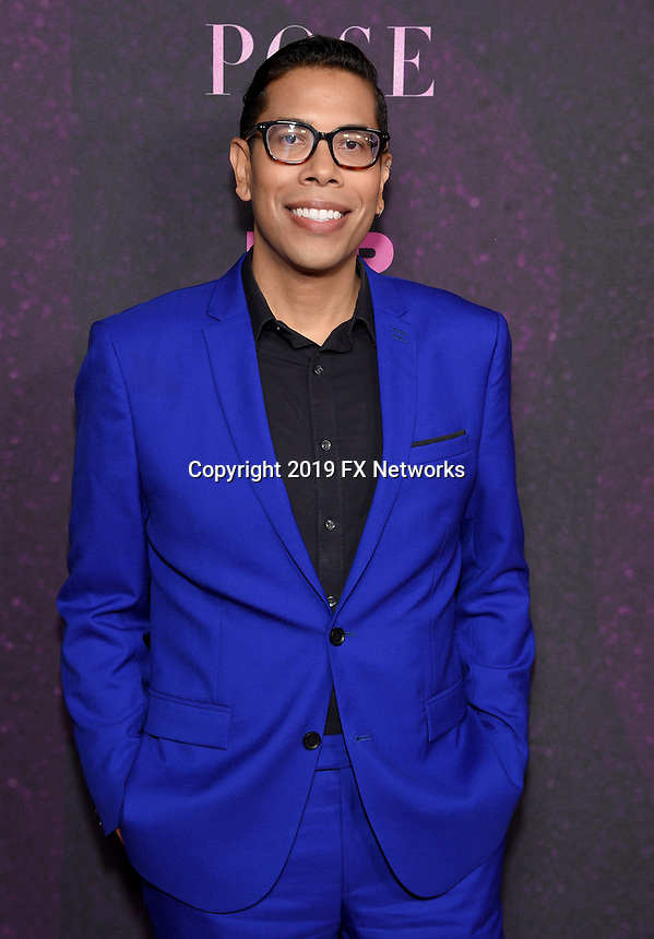 "LOS ANGELES - JUNE 1: Co-Creator/Executive Producer/Writer Steven Canals attends the FYC Event for Fox 21 TV Studios & FX Networks ""Pose"" at The Hollywood Athletic Club on June 1, 2019 in Los Angeles, California. (Photo by Stewart Cook/FX/PictureGroup)"
