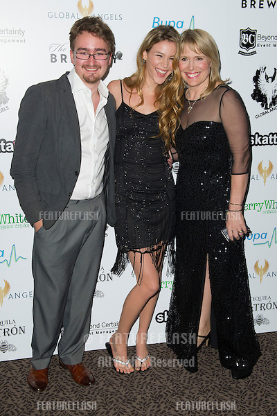 Joss Stone and Molly Bedingfield arriving for The Global Angels Awards 2012, The Brewery, London. 09/11/2012 Picture by: Simon Burchell / Featureflash