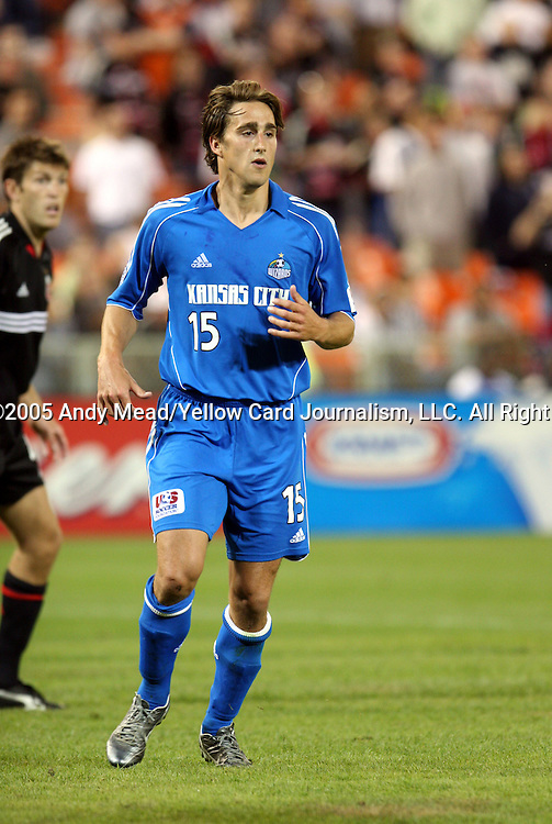21 May 2005: Josh Wolff. DC United defeated the Kansas City Wizards 3-2 at RFK Stadium in Washington, DC in a regular season Major League Soccer game. . .