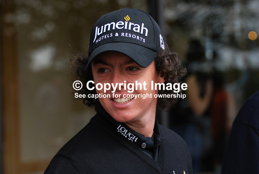 Rory McIlroy, N Ireland, UK, professional golfer, 200905122212..Taken at the Irish Open practice day, Tuesday, 12th May, 2009, at Baltray...Copyright Image from Victor Patterson, 54 Dorchester Park, Belfast, UK, BT9 6RJ..Tel: +44 28 9066 1296.Mob: +44 7802 353836.Voicemail +44 20 8816 7153.Skype: victorpattersonbelfast.Email: victorpatterson@mac.com.Email: victorpatterson@ireland.com (back-up)..IMPORTANT: If you wish to use this image or any other of my images please go to www.victorpatterson.com and click on the Terms & Conditions. Then contact me by email or phone with the reference number(s) of the image(s) concerned.