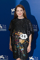 Julianne Moore at the &quot;Suburbicon&quot; photocall, 74th Venice Film Festival in Italy on 2 September 2017.<br /> <br /> Photo: Kristina Afanasyeva/Featureflash/SilverHub<br /> 0208 004 5359<br /> sales@silverhubmedia.com