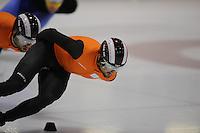 SCHAATSEN: HEERENVEEN: 31-01-2014, IJsstadion Thialf, Training Topsport, Niels Kerstholt, ©foto Martin de Jong