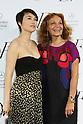 Rinko Kikuchi, Diane von Furstenberg, Mar 20 2014 : Rinko Kikuchi, Diane von Furstenberg attend a photocall after Diane von Furstenberg fashion show Shibuya Hikarie Tokyo Jpan on 20 Mar. (Photo by Motoo Naka/AFLO)