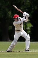 R Saunders of Hornchurch during Hornchurch CC vs Billericay CC, Shepherd Neame Essex League Cricket at Harrow Lodge Park on 8th June 2019