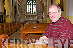 ACCESS: Canon Declan O'Connor of St Mary's Church in Listowel which is undergoing a revamp to make it more wheelchair accessible.