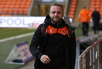 Blackpool players arrive prior to the kick-off<br /> <br /> Photographer Stephen White/CameraSport<br /> <br /> Emirates FA Cup Third Round - Blackpool v Arsenal - Saturday 5th January 2019 - Bloomfield Road - Blackpool<br />  <br /> World Copyright © 2019 CameraSport. All rights reserved. 43 Linden Ave. Countesthorpe. Leicester. England. LE8 5PG - Tel: +44 (0) 116 277 4147 - admin@camerasport.com - www.camerasport.com<br /> <br /> Photographer Stephen White/CameraSport<br /> <br /> Emirates FA Cup Third Round - Blackpool v Arsenal - Saturday 5th January 2019 - Bloomfield Road - Blackpool<br />  <br /> World Copyright © 2019 CameraSport. All rights reserved. 43 Linden Ave. Countesthorpe. Leicester. England. LE8 5PG - Tel: +44 (0) 116 277 4147 - admin@camerasport.com - www.camerasport.com