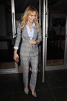 LONDON, ENGLAND - OCTOBER 08 :  Amanda Holden leaves the screening of 'Child Of Mine', at Curzon Soho on October 08, 2018 in London, England.<br /> CAP/AH<br /> ©AH/Capital Pictures