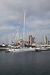 Tall Ships Challenger 3 boat Sarah, Ipswich Wet Dock, Ipswich, Suffolk, England
