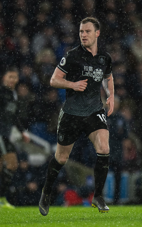 Burnley's Ashley Barnes<br /> <br /> Photographer David Horton/CameraSport<br /> <br /> The Premier League - Brighton and Hove Albion v Burnley - Saturday 9th February 2019 - The Amex Stadium - Brighton<br /> <br /> World Copyright &copy; 2019 CameraSport. All rights reserved. 43 Linden Ave. Countesthorpe. Leicester. England. LE8 5PG - Tel: +44 (0) 116 277 4147 - admin@camerasport.com - www.camerasport.com