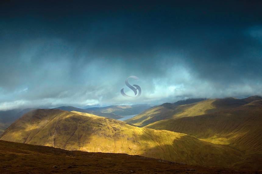 Beinn a' Chaisteil from Beinn Odhar, above Tyndrum, Loch Lomond and the Trossachs National Park