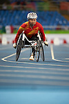Rio Paralympic Games 2016, Athletics Day One Lisa Huang, China, gold medallist
