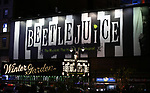 "Theatre Marquee for the Broadway Opening Night Performance of ""Beetlejuice"" at The Winter Garden on April 25, 2019 in New York City."