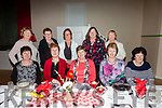 Pictured at the Biddy Boston Tea Party in Foilmore Community Centre on Friday night were front l-r; Eileen O'Sullivan, Kathleen O'Donoghue, Eileen Griffin, Mary Casey, Bríd Keating, back l-r; Noreen Sugrue, Catherine Clifford, Mary O'Neill-McDonnell, Arena O'Sullivan & Eileen O'Connor.
