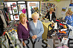 CHARITABLE LADIES: Mary Kelly and Catherine Rogers long serving members at Oxfam Shop in Tralee..