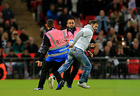 Stewards take down pitch invader during the FIFA World Cup 2018 Qualifying Group F match between England and Slovenia at Wembley Stadium on October 5th 2017 in London, England. <br /> Calcio Inghilterra - Slovenia Qualificazioni Mondiali <br /> Foto Phcimages/Panoramic/insidefoto