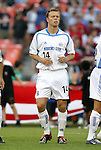 15 May 2004: Jack Jewsbury during player introductions. DC United defeated the Kansas City Wizards 1-0 at RFK Stadium in Washington, DC during a regular season Major League Soccer game..