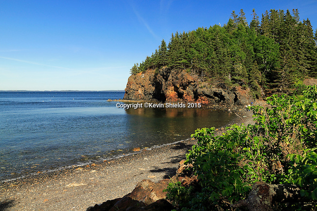 View of Owls Head State Park, Owls Head, Maine, USA