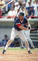 Boston Red Sox Wade Boggs (26) during spring training circa 1992 at Dunedin Stadium in Dunedin, Florida.  (MJA/Four Seam Images)
