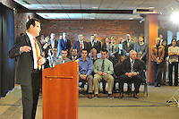 The Orioles announced the hiring of Dan Duquette as their new Executive Vice President of Baseball Operations at a Press Conference Tuesday afternoon at the Camden Yards Warehouse.