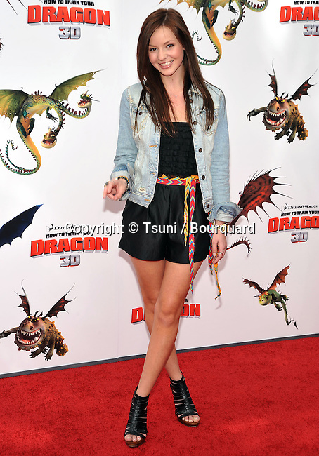 Samantha Droke _21 - <br /> How To Train Your Dragon premiere at the Universal Amphitheatre In Los Angeles.