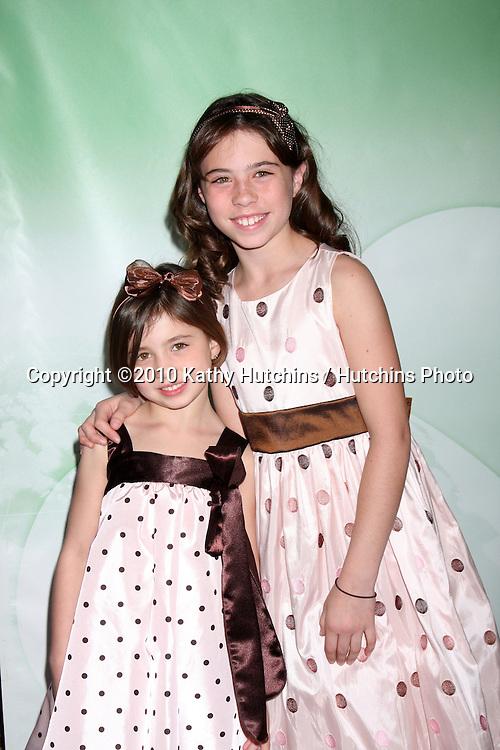 Savannah & Emily Rae.arriving at the 2010 Winter NBC TCA Party .Langford Hotel.Pasadena, CA.January 10, 2010.©2010 Kathy Hutchins / Hutchins Photo....