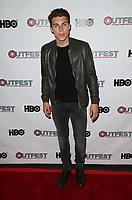 "11 July 2017 - West Hollywood, California - Nolan Gerard Funk. ""Hello Again"" 2017 Outfest Los Angeles LGBT Film Festival Screening. Photo Credit: F. Sadou/AdMedia"