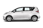 Car Driver side profile view of a 2015 Toyota Verso-S skyview 5 Door Hatchback 2WD Side View