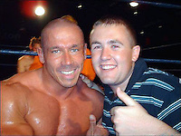 "COPY BY TOM BEDFORD<br /> Pictured: Mark Gedge (L), image taken from his open facebook page.<br /> Re: A professional wrestler killed himself after discovering his heart was packing up because of steroid abuse.  <br /> Mark Gedge, 44, known as Dynamic Domino, went into a ""deep depression"" when doctors banned him from the gym.<br /> An inquest heard he was diagnosed with heart failure and his ticker was only working at 36 per cent of the normal rate.<br /> Mark, a presenter with Sunshine Radio in Hereford, told bosses he needed time off work and was going camping.<br /> He was found dead from carbon monoxide poisoning in a tent on the Brecon Beacons in June.<br /> His mother Shirley Barber told the inquest in Brecon: ""A scan showed his heart was only working at 36 per cent.COPY BY TOM BEDFORD<br /> Pictured: Mark Gedge, image taken from his open facebook page.<br /> Re: A professional wrestler killed himself after discovering his heart was packing up because of steroid abuse.  <br /> Mark Gedge, 44, known as Dynamic Domino, went into a ""deep depression"" when doctors banned him from the gym.<br /> An inquest heard he was diagnosed with heart failure and his ticker was only working at 36 per cent of the normal rate.<br /> Mark, a presenter with Sunshine Radio in Hereford, told bosses he needed time off work and was going camping.<br /> He was found dead from carbon monoxide poisoning in a tent on the Brecon Beacons in June.<br /> His mother Shirley Barber told the inquest in Brecon: ""A scan showed his heart was only working at 36 per cent."