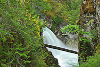 Waterfall on the Little Qualicum River<br /> Little Qualicum River Falls Provincial Park<br /> British Columbia<br /> Canada