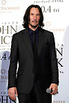 """Actor Keanu Reeves attends a stage greeting for the movie """"John Wick: Chapter 3 - Parabellum"""" in Tokyo, Japan, September 10, 2019. The movie will be released in Japan on October 4. JIJI PRESS PHOTO / MORIO TAGA"""