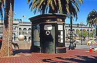 San Friancisco:  Street Furniture, Comfort Station, Ferry Building.