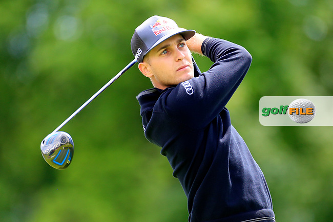 Matthias Schwab (AUT) during the ProAm ahead of the Lyoness Open powered by Organic+ played at Diamond Country Club, Atzenbrugg, Austria. 8-11 June 2017 April.<br /> 07/06/2017.<br /> Picture: Golffile | Phil Inglis<br /> <br /> <br /> All photo usage must carry mandatory copyright credit (&copy; Golffile | Phil Inglis)