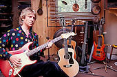 1982: THE POLICE - Andy Summers - Photosession at Home in Putney London