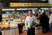 Roma, 16 Marzo 2017<br /> Mercato Via Magna Grecia, il Comune di Roma annuncia il finanziamento per il recupero dei mercati rionali.