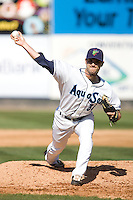 July 11, 2010: Everett AquaSox pitcher Chris Sorce (36) during a Northwest League game against the Eugene Emeralds at Everett Memorial Stadium in Everett, Washington.