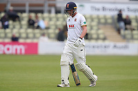 Tom Westley of Essex leaves the field having been dismissed for 26 during Worcestershire CCC vs Essex CCC, Specsavers County Championship Division 1 Cricket at Blackfinch New Road on 12th May 2018