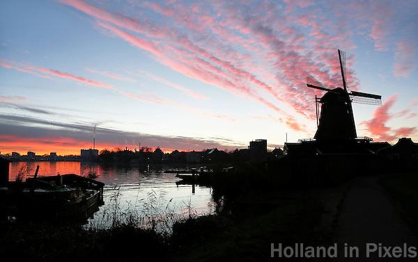 Nederland  Zaandam Zaanse Schans 2016. Molens aan de Zaan. Foto Berlinda van Dam / Hollandse Hoogte