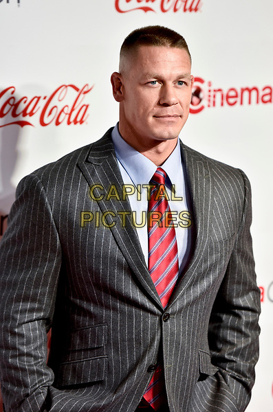 LAS VEGAS, NV - MARCH 30:  John Cena at the CinemaCon Big Screen Achievement Awards  at The Colosseum at Caesars Palace during CinemaCon 2017on March 30, 2017 in Las Vegas, Nevada. <br /> CAP/MPI/KLH<br /> &copy;KLH/MPI/Capital Pictures