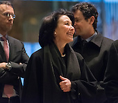 Oracle CEO Safra Catz is seen in the lobby of Trump Tower in New York, NY, USA on December 14, 2016. Credit: Albin Lohr-Jones / Pool via CNP